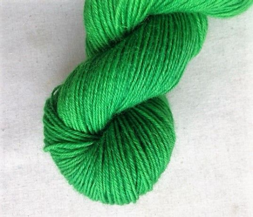 Apples & Pears WYS 3ply sock yarn mini - Grass Green